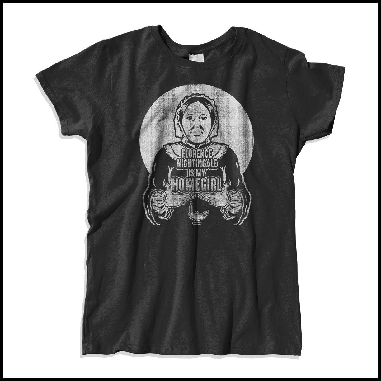 Shirt design buy - Classic T Shirt Design For Nurses Softstyle Cotton 30 Single Tee Florence Nightingale