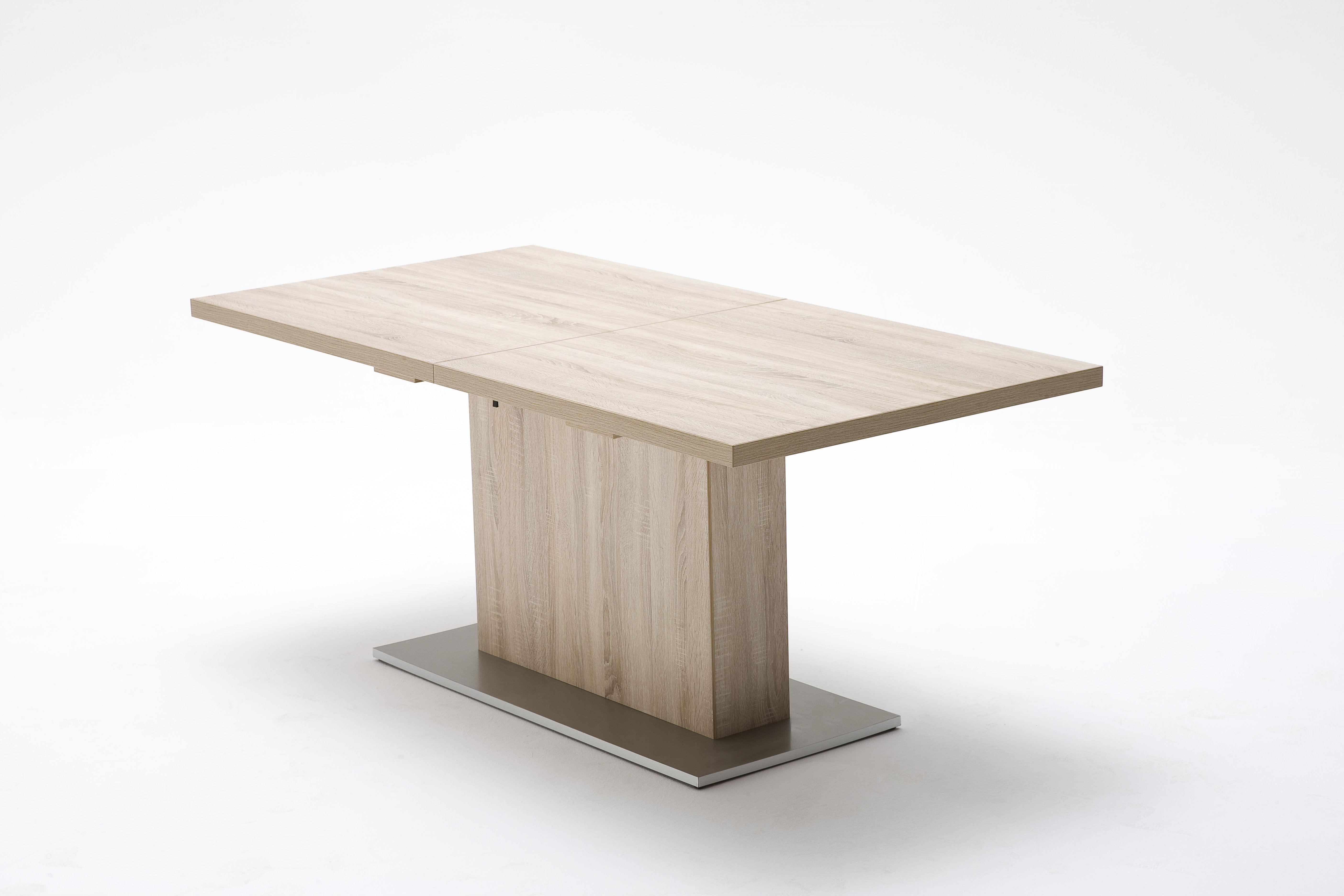 esstisch wallis erweiterbar passend zum mbelprogramm wallis 1 x esstisch mit einlegeplatte 50 cm mae - Erweiterbarer Esstisch