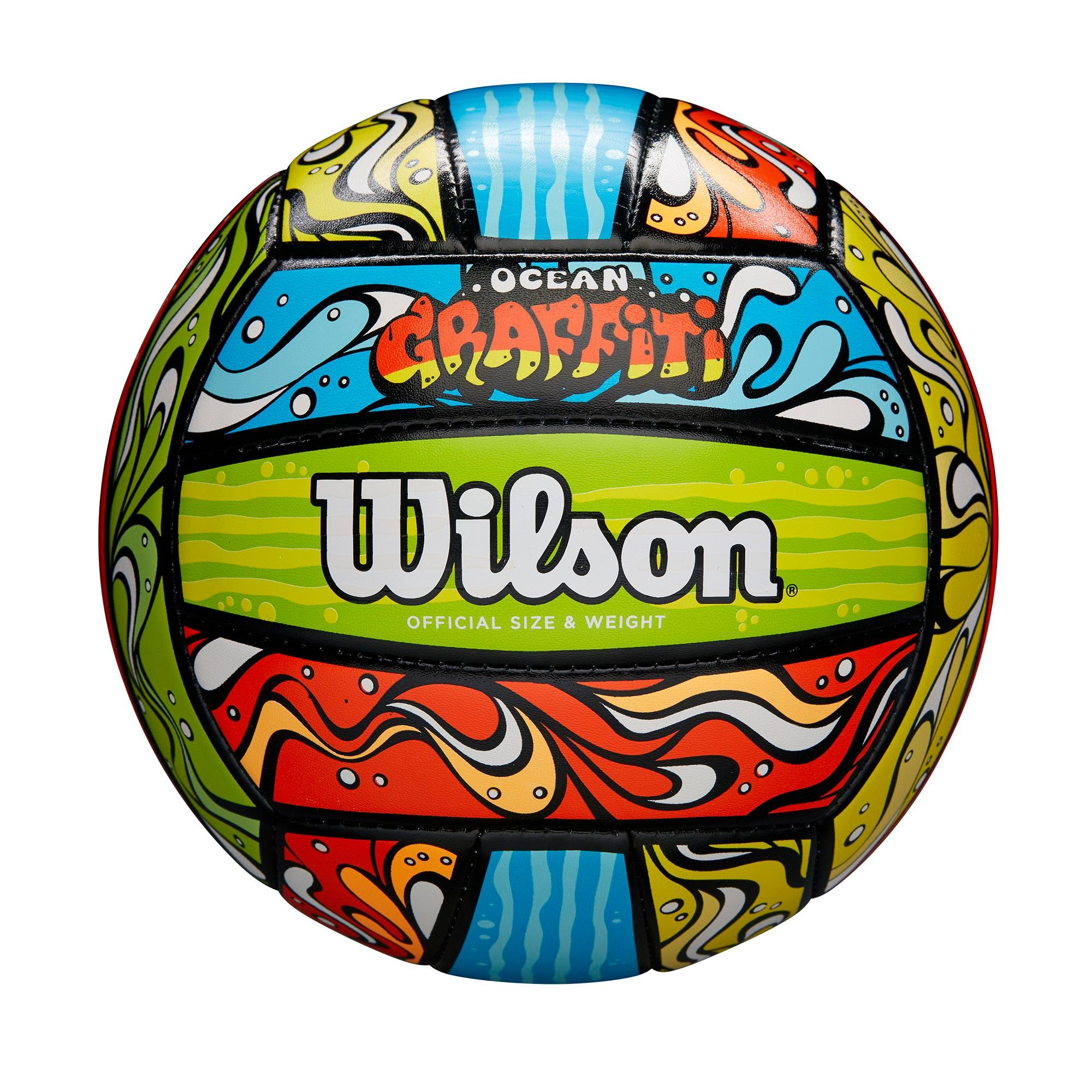 Wilson Volleyball Graffiti Ocean Multi Colored
