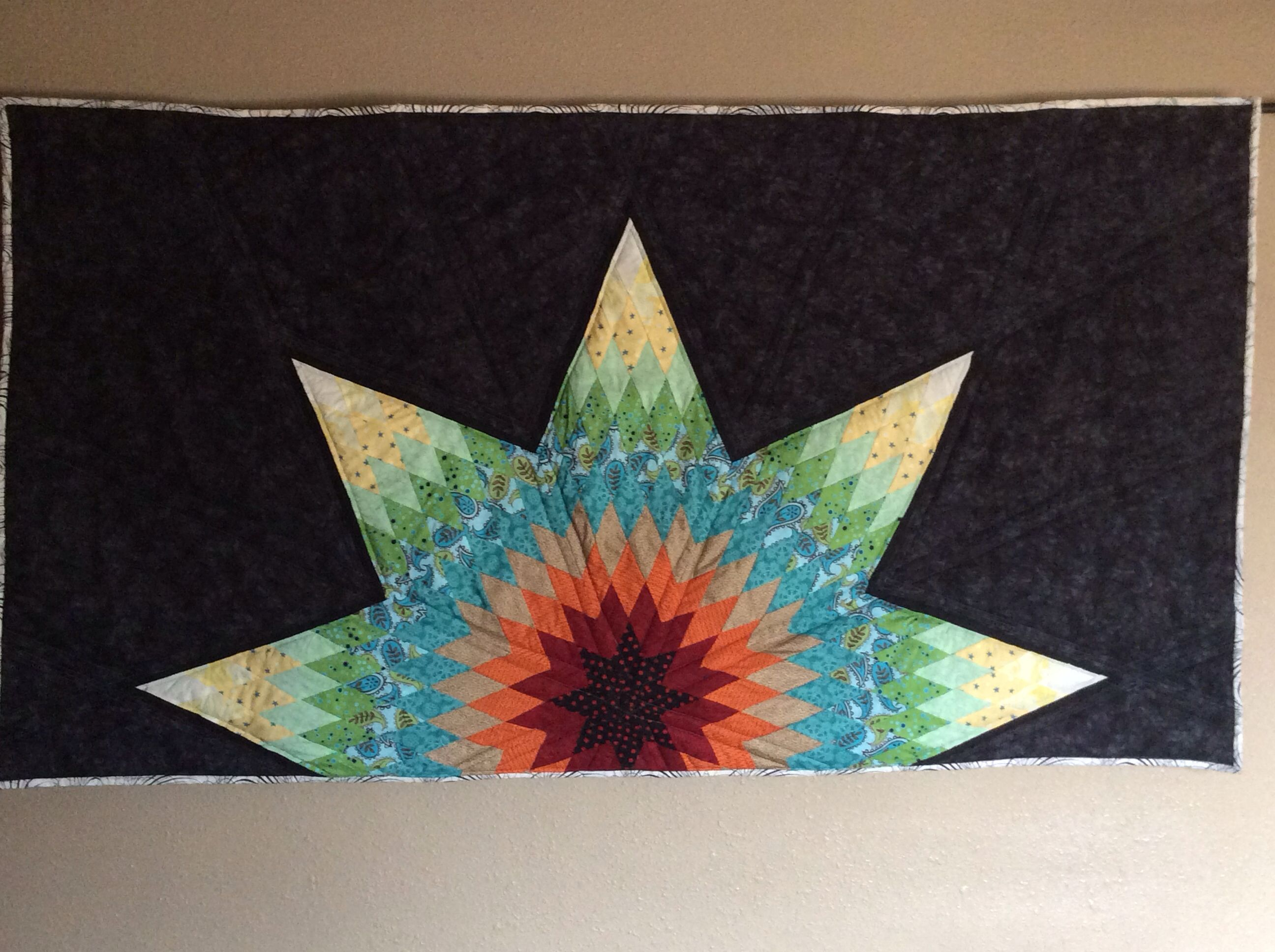 Lone Star wall hanging