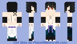 Sasuke Minecraft Skin Minecraft Skins Pinterest Minecraft - Skin para minecraft pe de sasuke