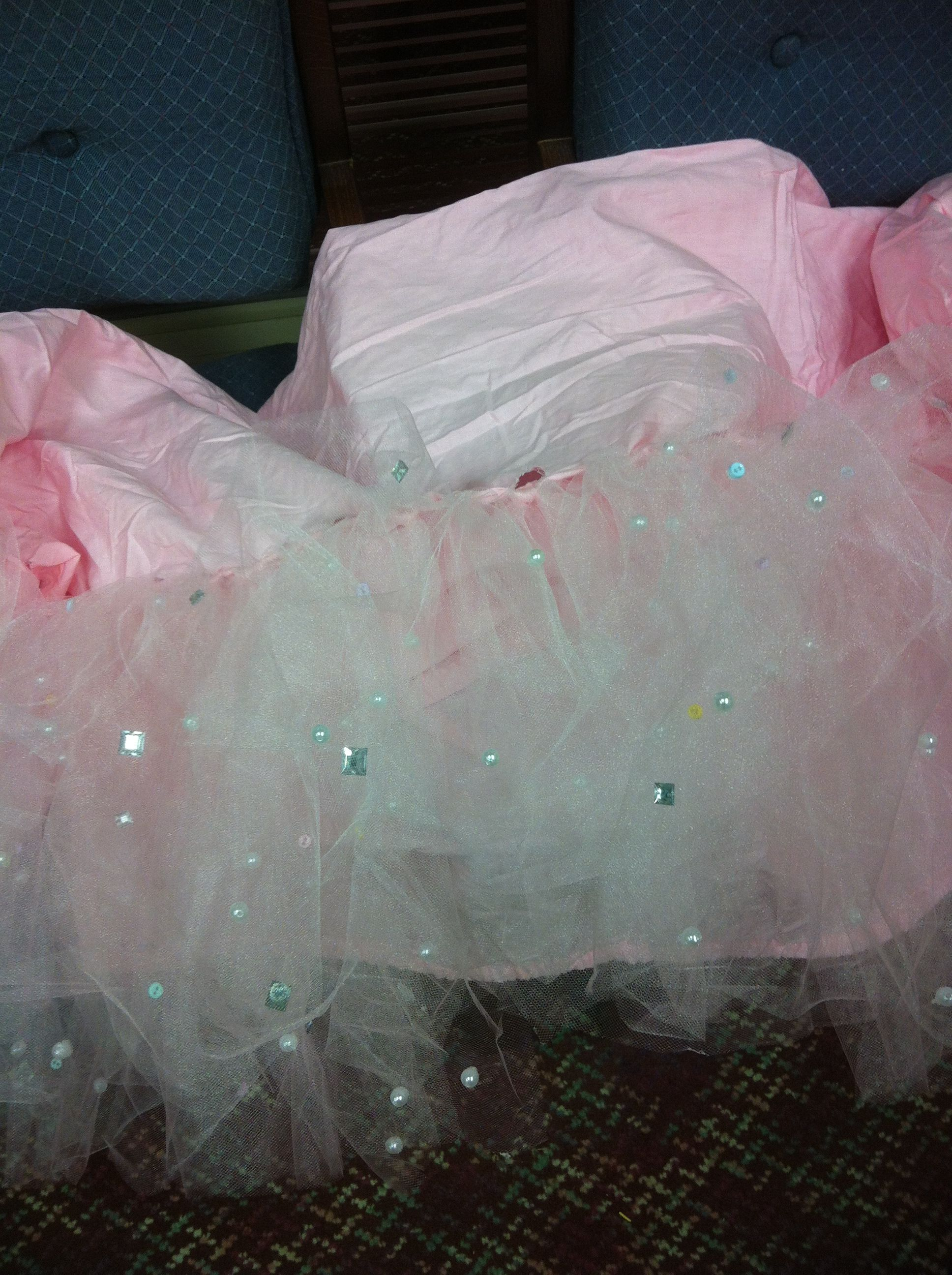 baby carleigh s tutu crib skirt made with a fitted crib sheet 10