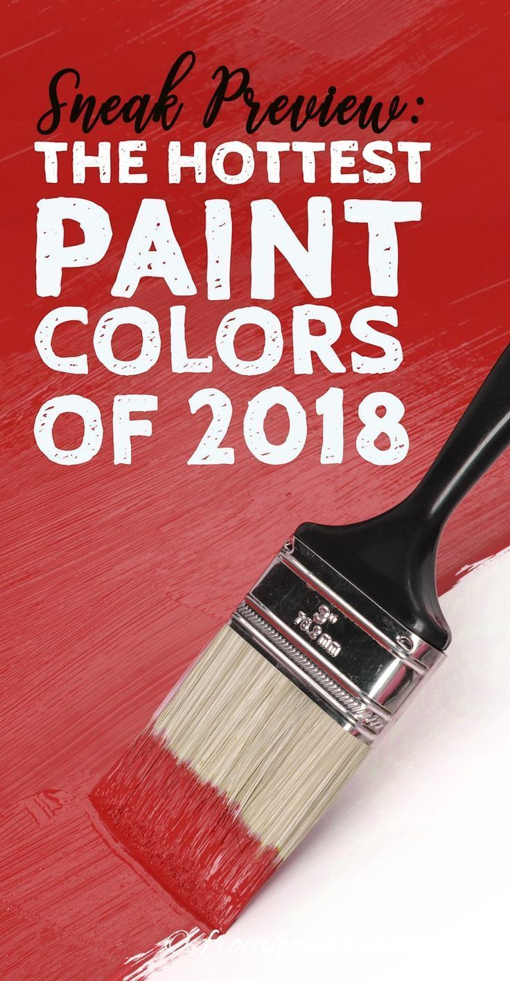 Image Of Hottest Paint Colours 2018 Trend Alert These Will be the ...