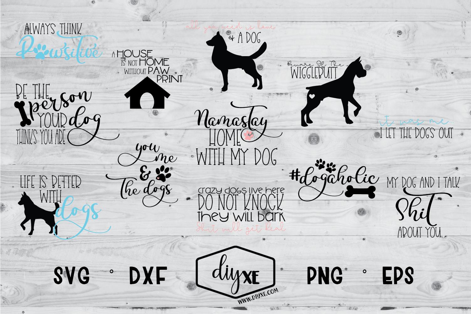 Download Massive Dog Bundle Svg-Dxf-Png-Eps | Massive dogs, Crazy ...