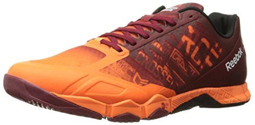 Reebok Mens R Crossfit Speed TR 10 Training Shoe Electric PeachTriathlon RedBlack 115 M US *** Click image for more details.