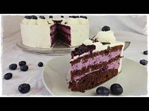 herrliche heidelbeeren joghurt torte rezept i einfach backen marcel paa youtube torten. Black Bedroom Furniture Sets. Home Design Ideas