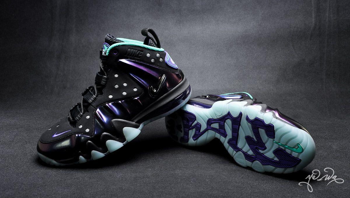 """c248a2c0b77 Nike Barkley Posite Max """"Eggplant"""" Closer Look"""