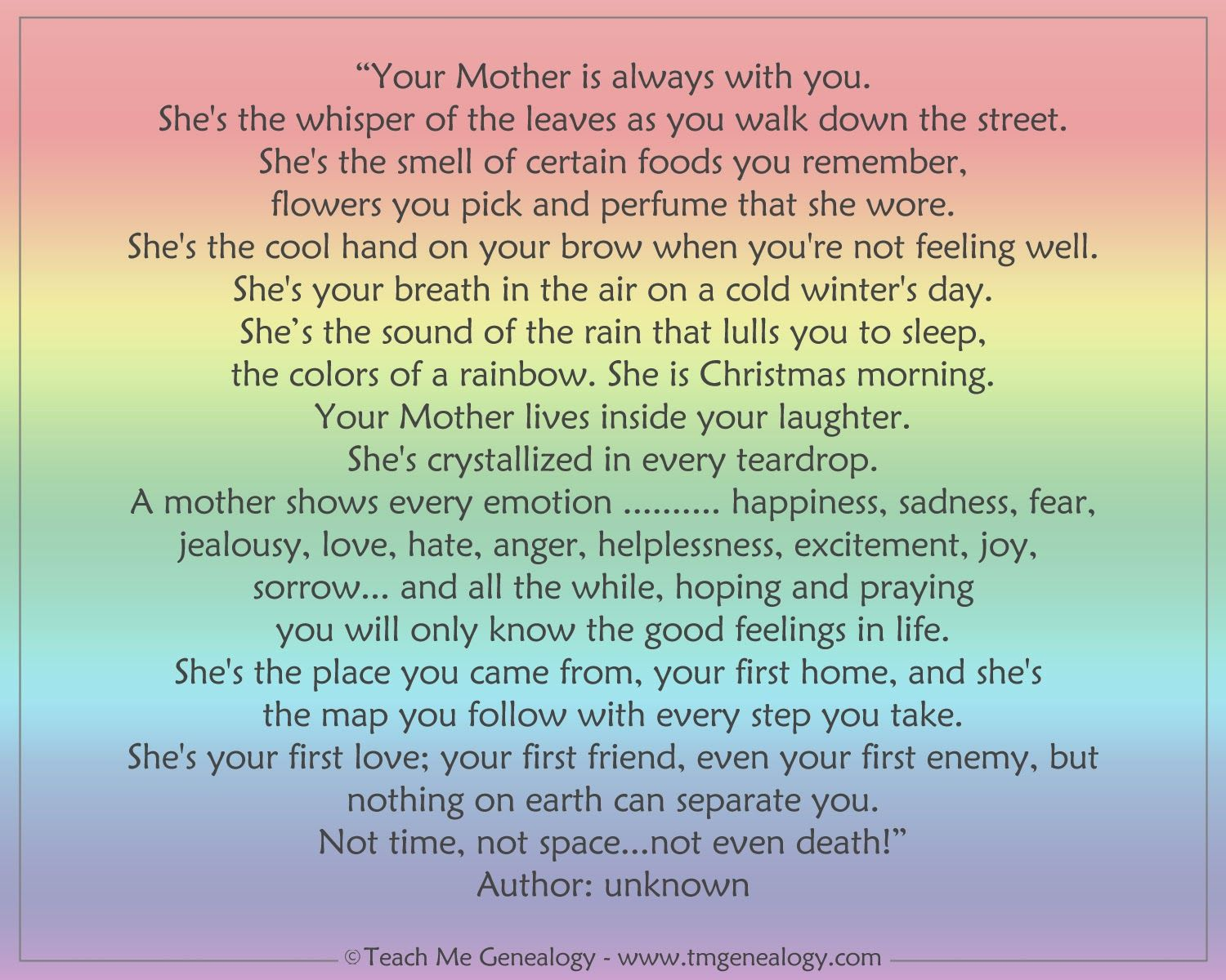 inspiring essays about mothers Celebrate mother's day 2012 with inspirational quotes about mothers read inspiring mother's day quotes from michael jordan, abraham lincoln, oprah winfrey, .