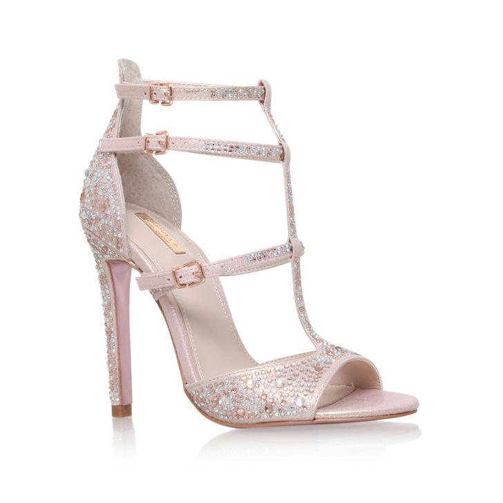 E Pink High Heel Sandals From Carvela Kurt Geiger