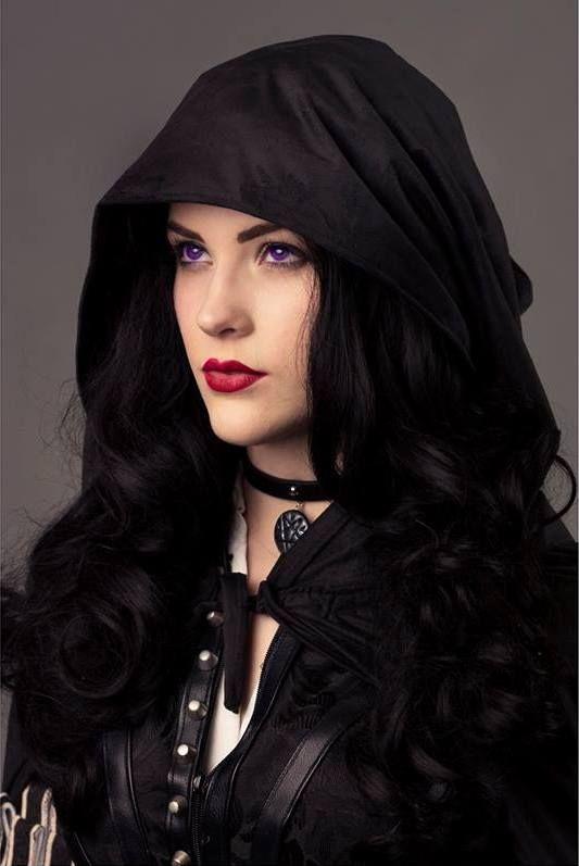 Eve Beauregard Jako Yennefer Wiedzmin 3 The Witcher Steam Girl