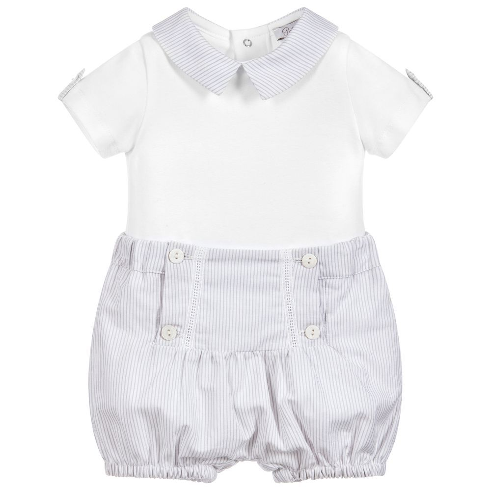 fd19e0846 Patachou Boys Bodysuit   Shorts Outfit