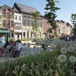 Korenmarkt Square by OKRA « Landscape Architecture Works   Landezine