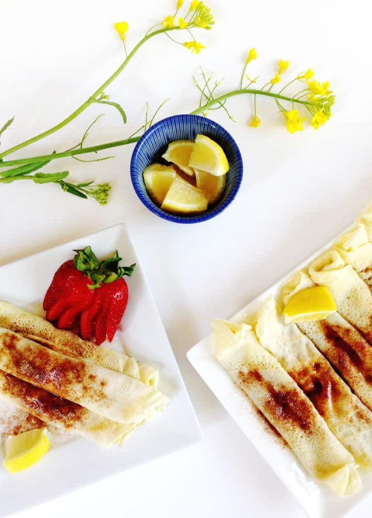 Pannekoek South African Pancakes » Feast + West Recipe