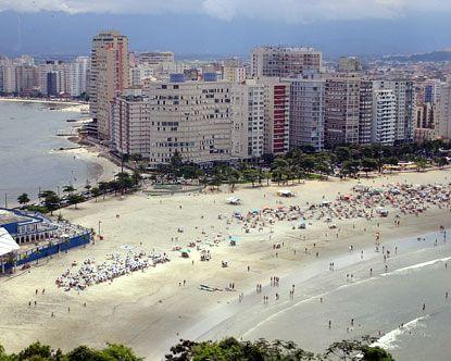 beach Sao paulo brazil