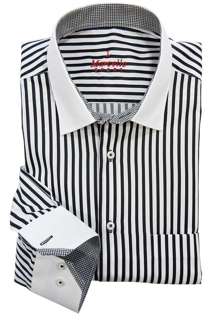 Ws02b Marcello Sport Accent Black Mens Dress Shirt Sport Shirt Black Dress Shirt Men Mens Shirt Dress Sports Shirts [ 1199 x 833 Pixel ]