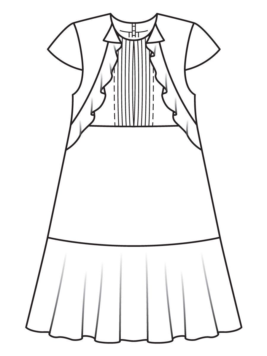 Платье расклешенного силуэта   Pinterest   Tratamientos de la ...
