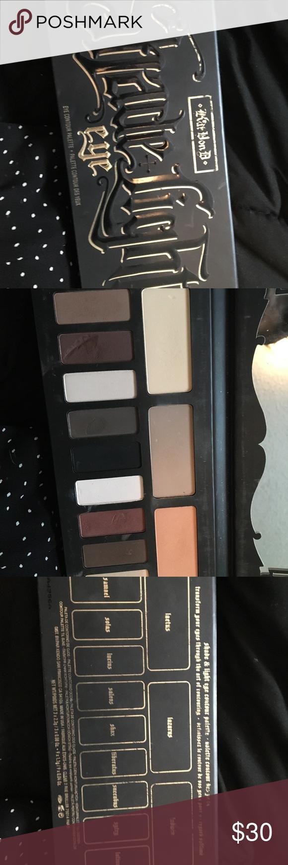 Shade and light KVD palette Kat von d makeup, Kat von d