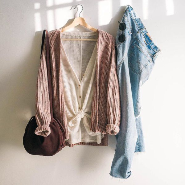 Out From Under Jojo Oversized Thermal Button-Front Top | Latest styles,  Urban outfitters and Urban