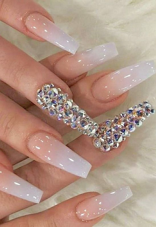 Top 100 Acrylic Nail Designs Of May 2019 Page 95 Of 99 French Nail Designs Best Acrylic Nails Long Acrylic Nails