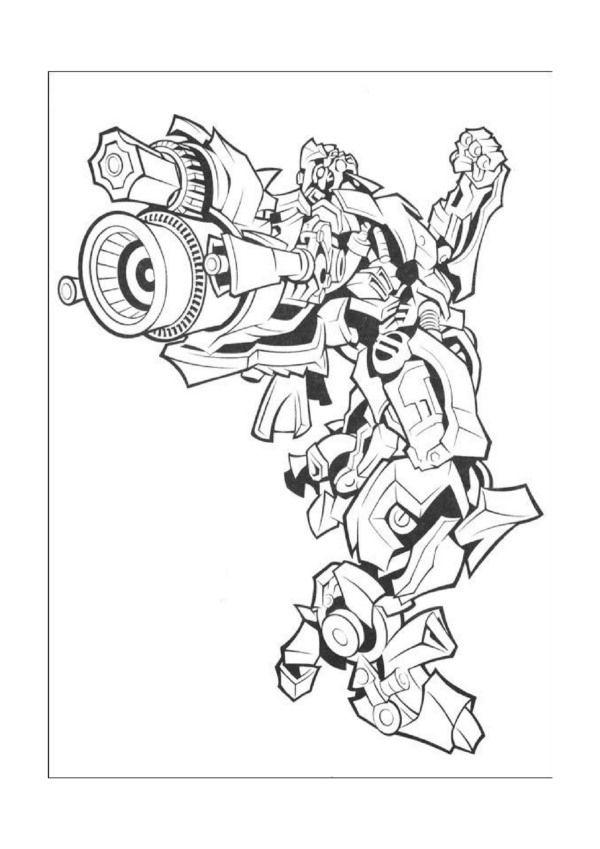 Dibujos para Colorear Transformers 16 | Dibujos para colorear para ...
