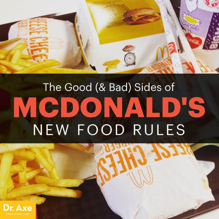 McDonald's http://www.draxe.com #health #holistic #natural