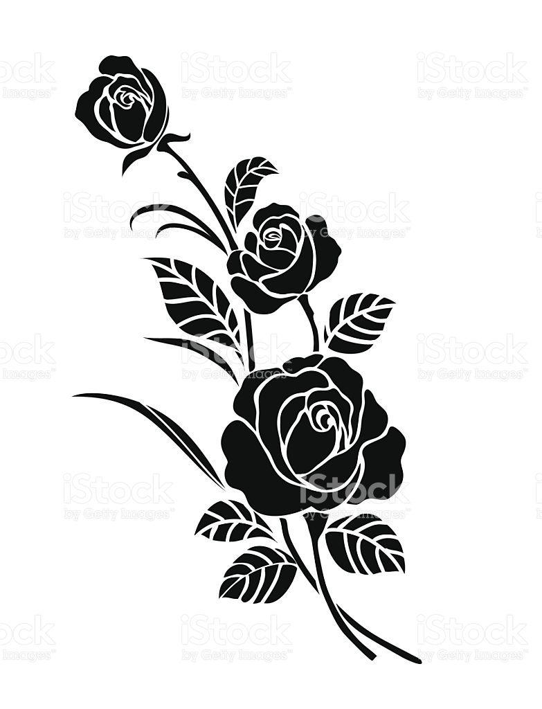 Rose motif,Flower design elements vector,flower design sketch for