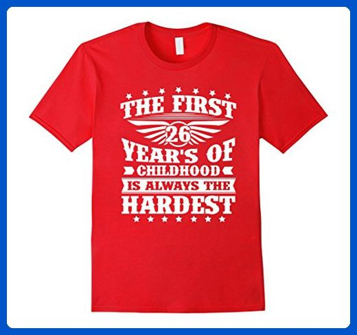 Mens Amazing T Shirt For Women Men 26 Year Old Birthday Gifts 3xl Red Shirts Partner Link