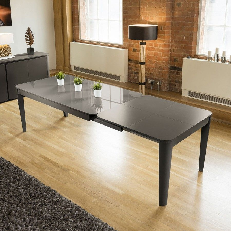 High Quality Large Rectangular Extending Dining Table Handmade To