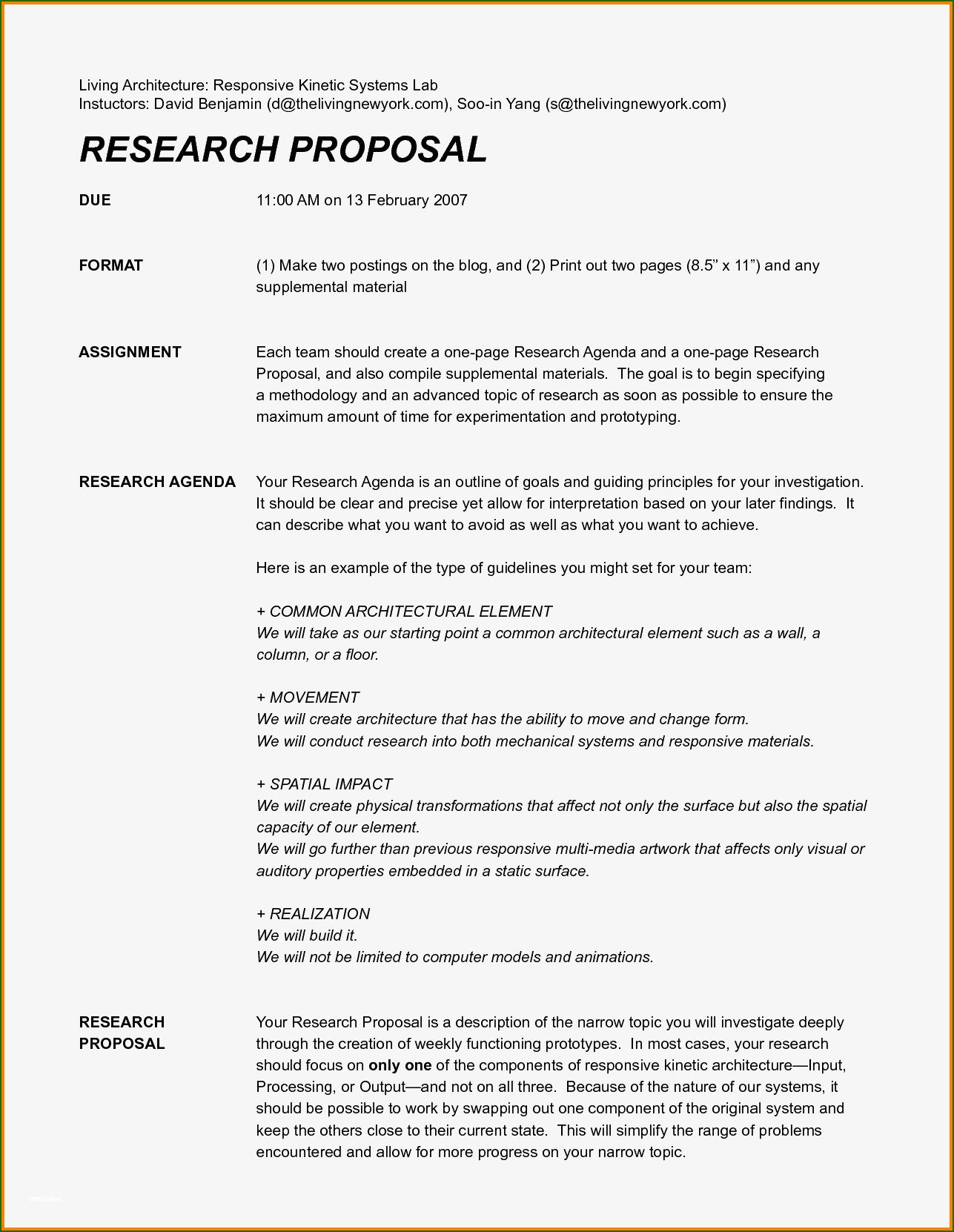One Page Proposal Template 20 Opinion that Will Wow You