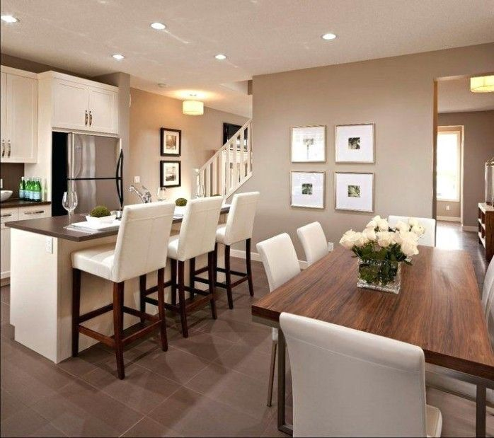 Living Room And Kitchen Color Schemes Paint Colors For Living Room Kitchen Dining Room Color Sc Kitchen Dining Room Dining Room Colors Dining Room Design