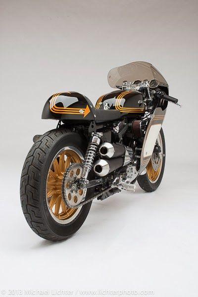 Harley-Davidson Cafe Racer #motorcycles #caferacer #motos   caferacerpasion.com