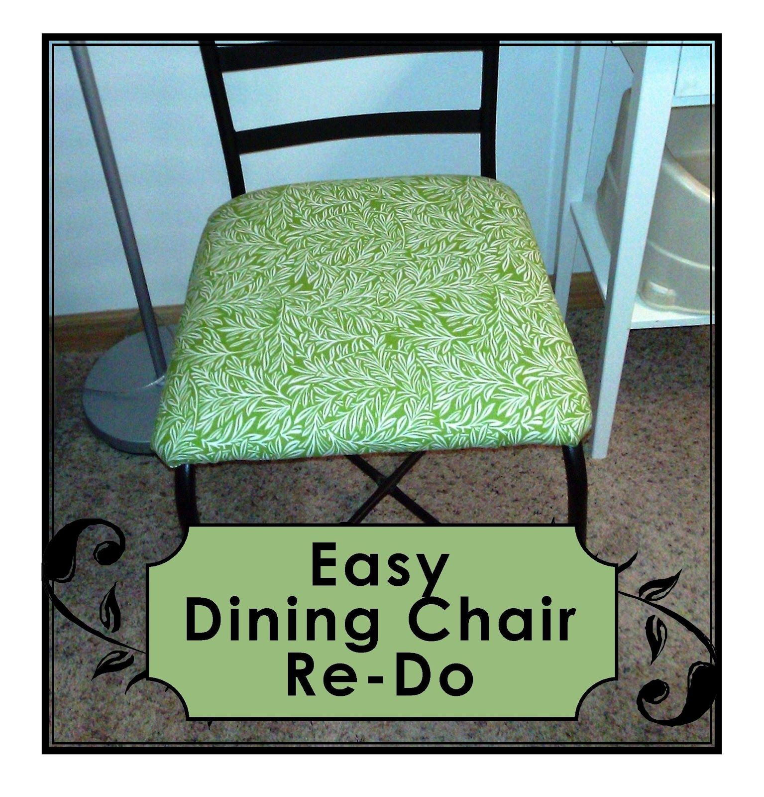 Recover Dining Room Chairs Gonna Do This