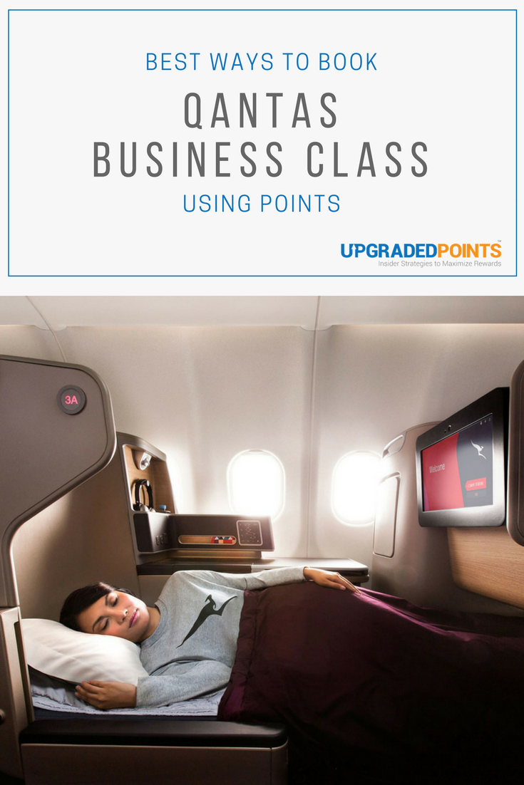 Best Ways to Book Qantas Business Class With Points [Step
