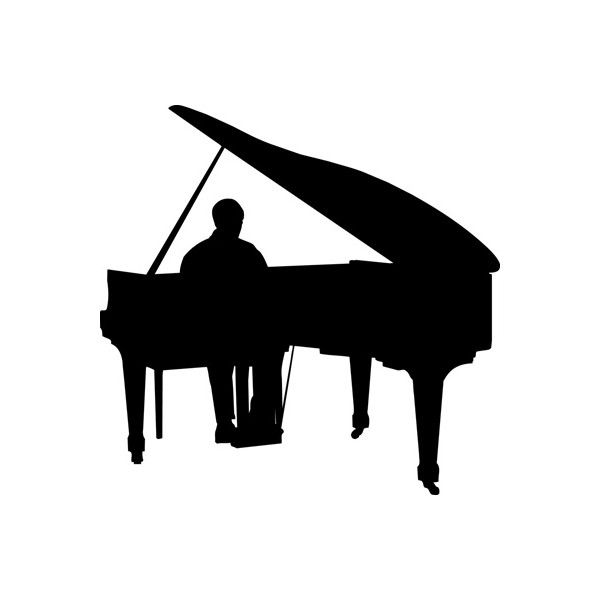 company photos man playing piano liked on Polyvore ...