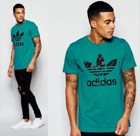 Adidas Trefoil t-shirt | Men store, T shirts uk, Adidas men
