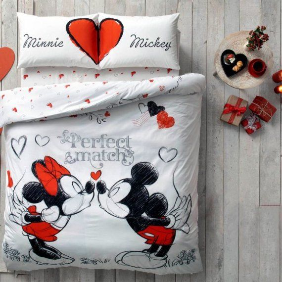 NEW all sizes available Disney Minnie Mouse RED BEDDING SET