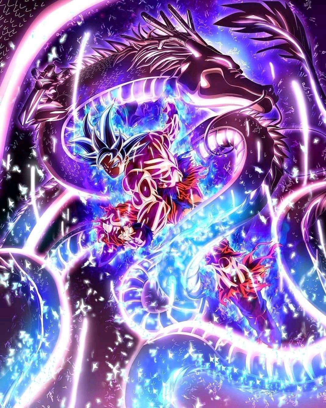 Goku atinge o instinto superior dragon ball super torneio do poder arte gr fico imagenes - Imagenes de dragon ball super ultra instinto ...