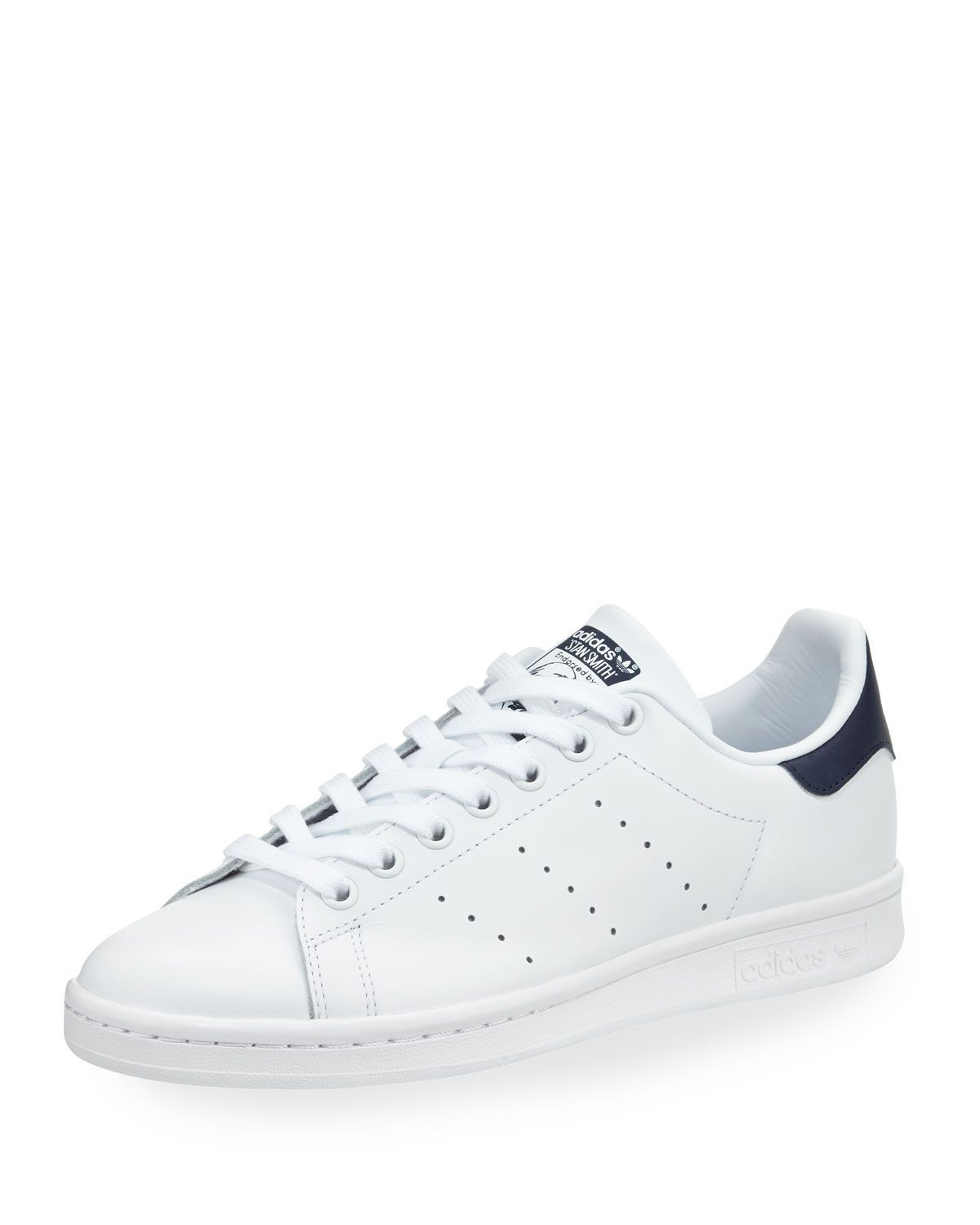 info for b3818 434c4 Stan Smith Fashion Sneaker, White Collegiate Navy · Adidas Stan SmithHigh  Top SneakersCat CatFlat ShoesTop ...