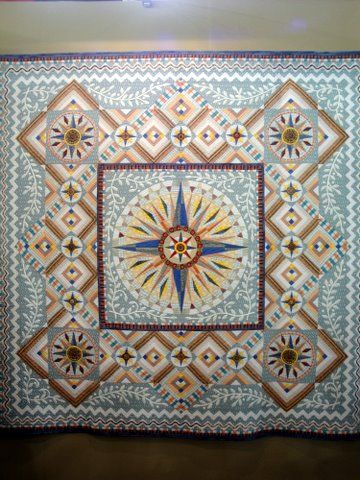 """quilt show    """"Portal to the Sun"""" via Flickr ( could not trace quilter)"""