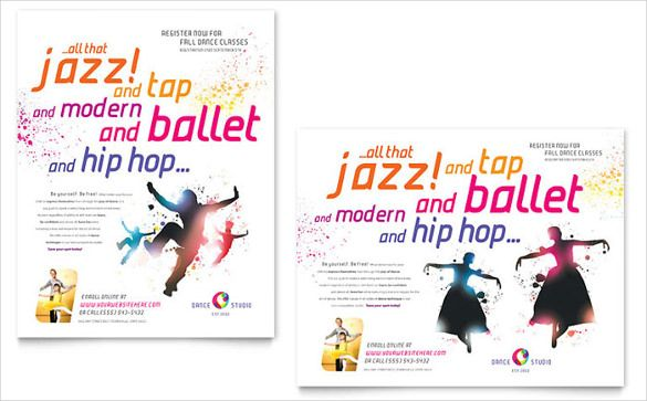 Dance Poster Template u2013 33+ Free PSD, InDesign Format Download - free poster template word