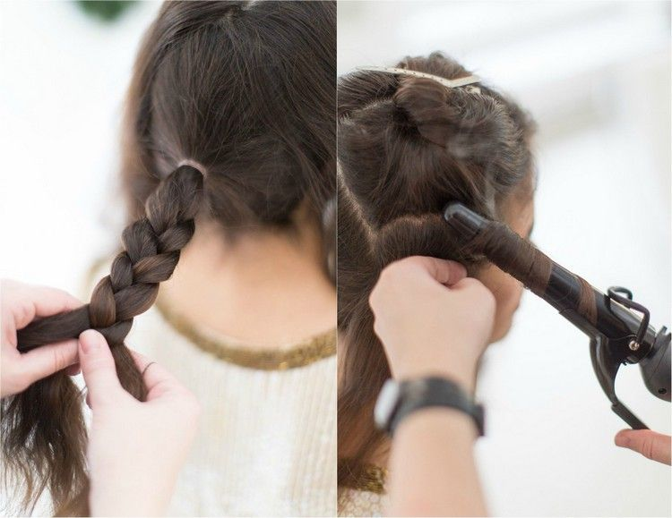 Silvester Frisuren Selber Machen 7 Einfache Anleitungen Fur Lange Haare Seitlicherdutt Duttkissen Locken Silvester Frisuren Haar Styling Frisuren Langhaar