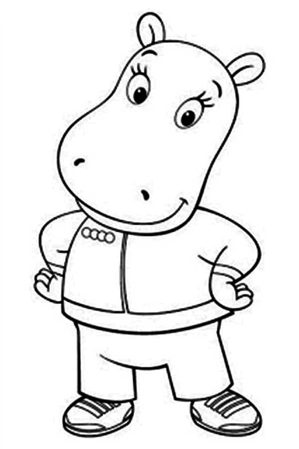 Tasha Take A Picture In The Backyardigans Coloring Page Kids Play Color In 2020 Nick Jr Coloring Pages Coloring Pages Color