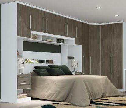 cama embutida no armario planejado - Pesquisa Google bedroom - minecraft schlafzimmer modern