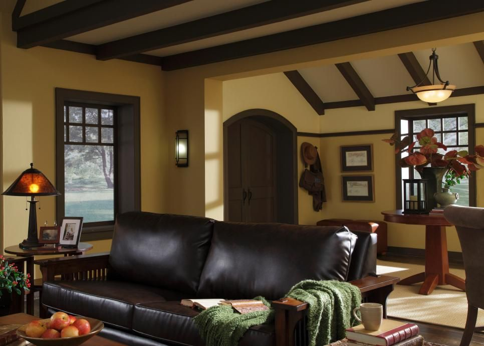 Hgtv Designs For Living Room Inspiration Design A Craftsman Living Room  Craftsman Craftsman Living Rooms Inspiration Design