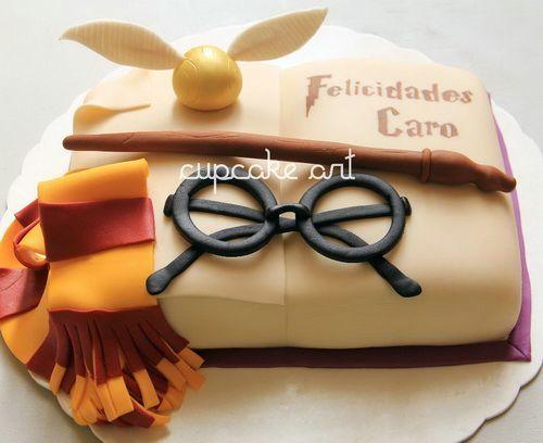 Sticks And Goggles Harry Potter Birthday Cake Kids Birthday