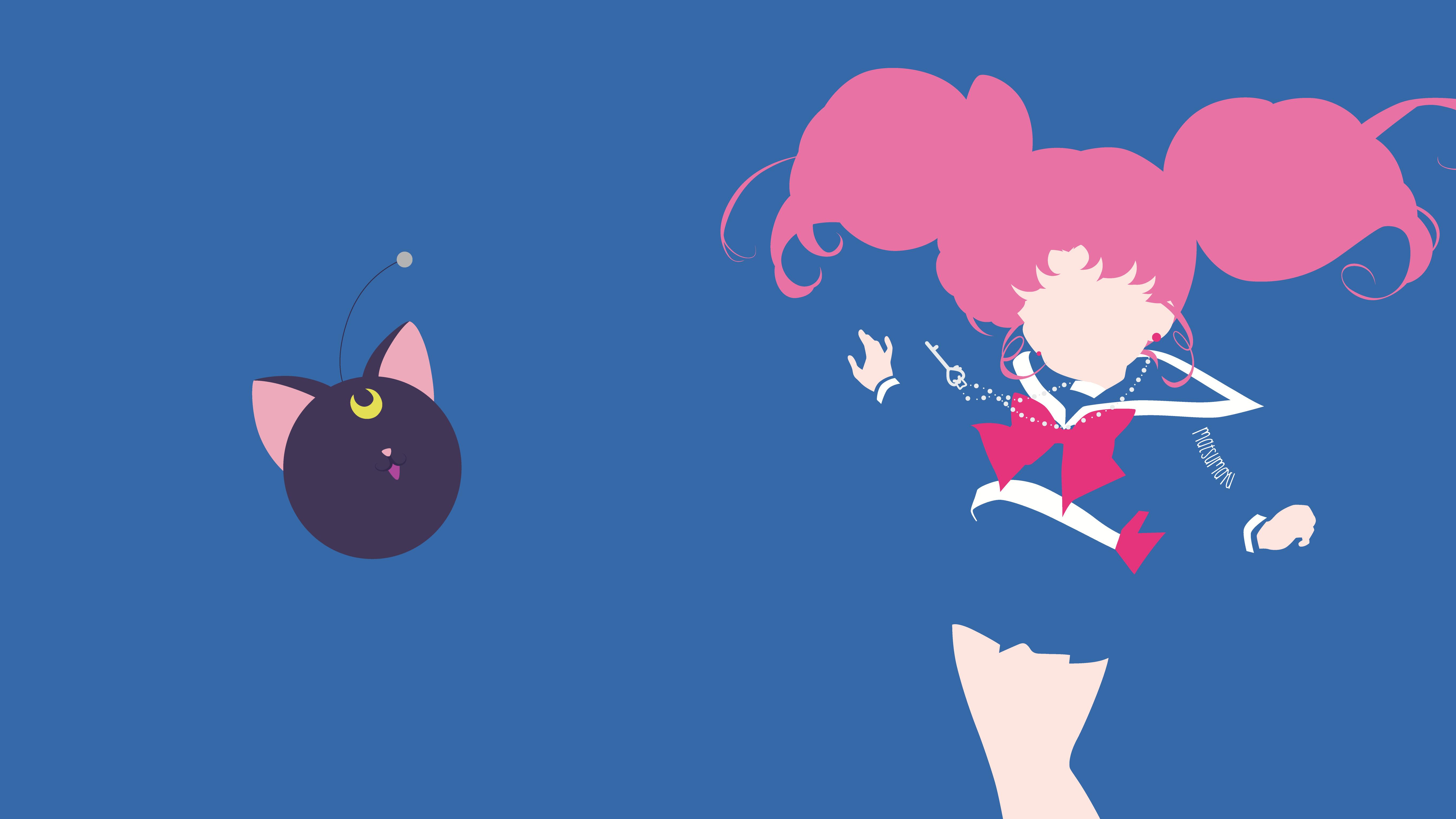 Chibi Usa From Sailor Moon Crystal Minimalist By Matsumayu D9bh9am Png 5443 3061 Sailor Moon Crystal Sailor Moon Wallpaper Sailor Chibi Moon