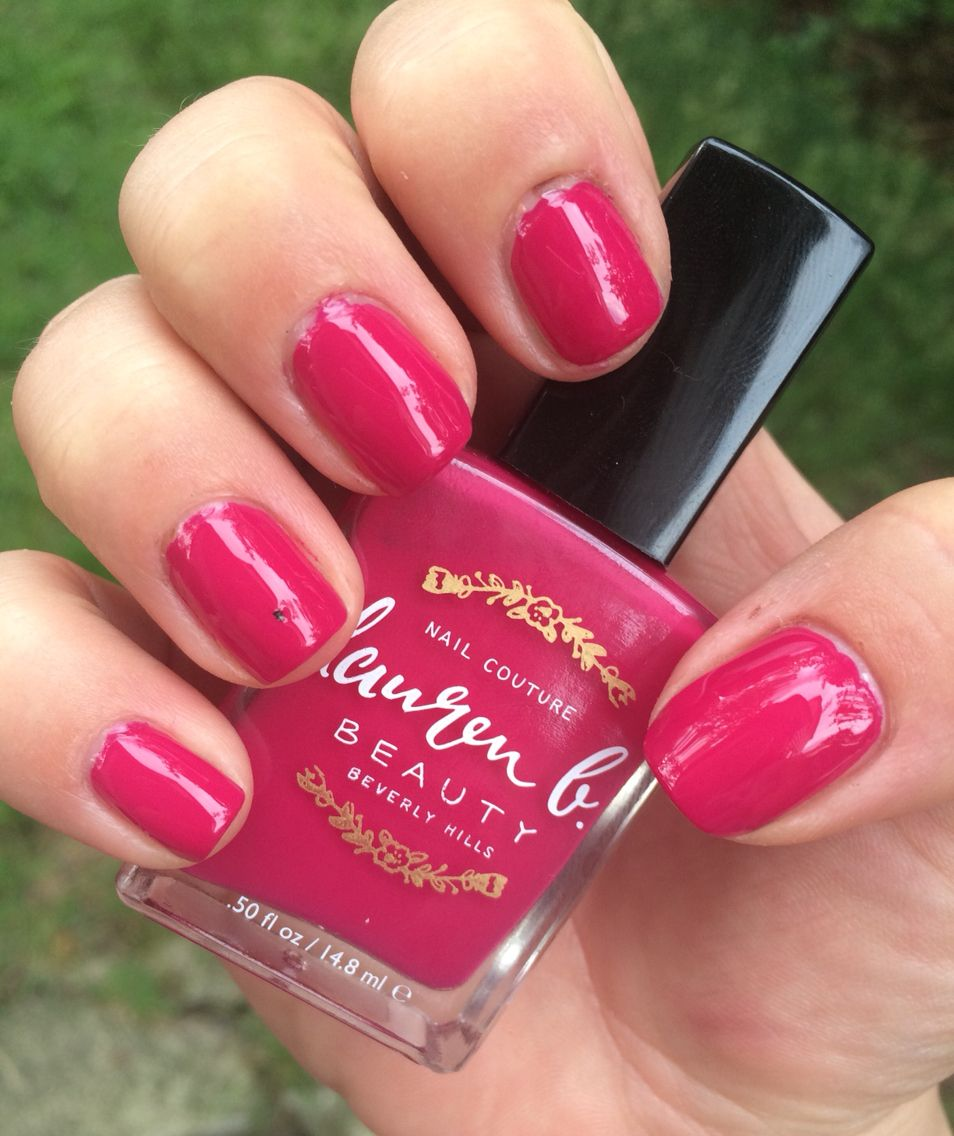 7. Lauren B Beauty: Polo Lounge Punch | Nail Polish Swatches ...