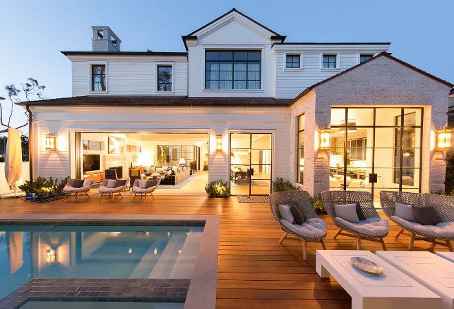 Modern Cape Cod Home Design | House exterior, House styles ...