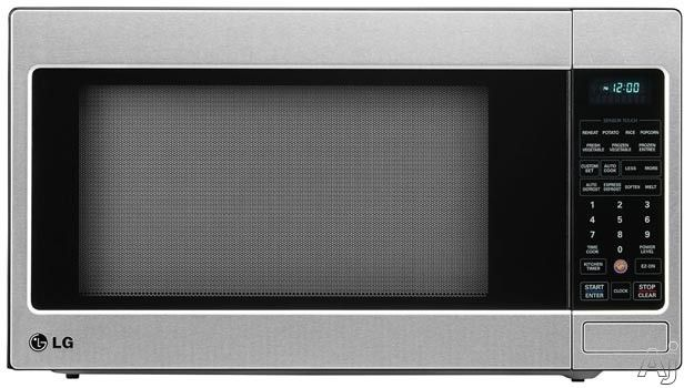 Lg Lcrt2010st 2 0 Cu Ft Countertop Microwave Oven With Sensor Cook Ez On Easyclean 1 200 Cooking Watts 7 Sensor Cook Options 6 Auto Cook Options 12 Digi Countertop Microwave Panasonic Microwave Oven Countertop Microwave Oven