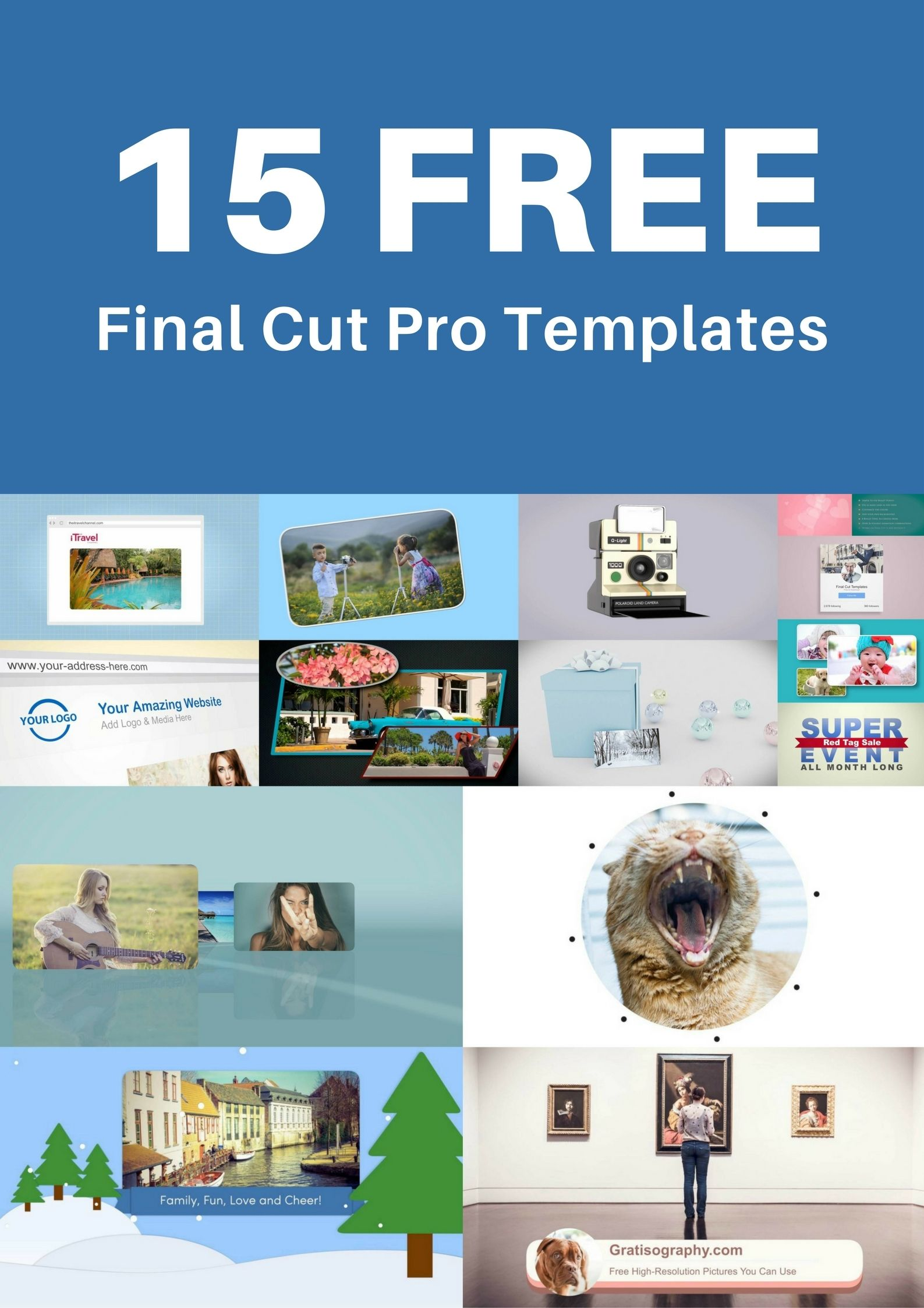 15 Free Fcpx Motion Templates For You Please Share